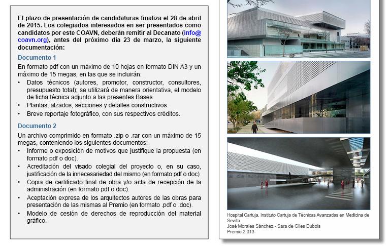 Premio Arquitectura Esp 2015