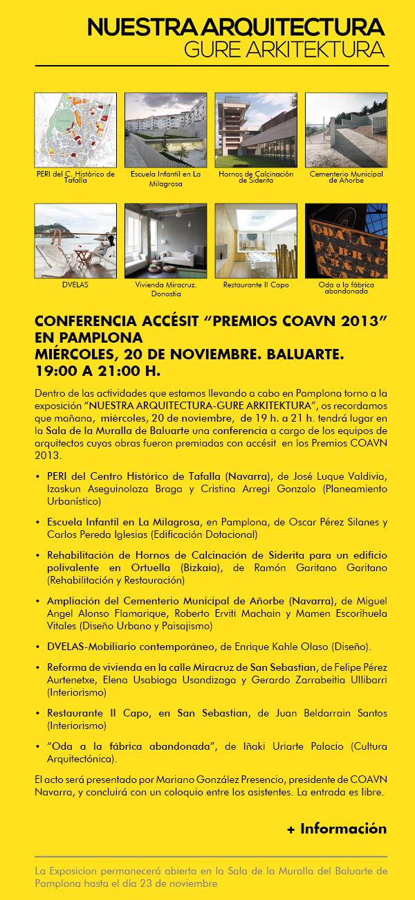 Premios COAVN - EHAEO Sariak