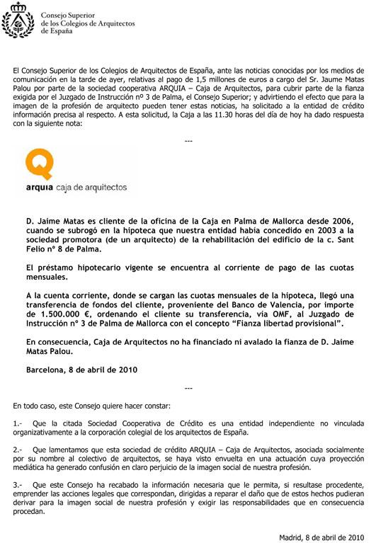 Acuerdo CSCAE