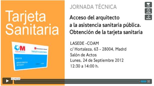 Jornada Tarjeta Sanitaria Madrid