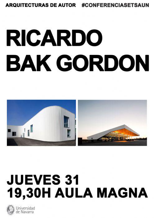 Conferencia Ricardo Bak Gordon