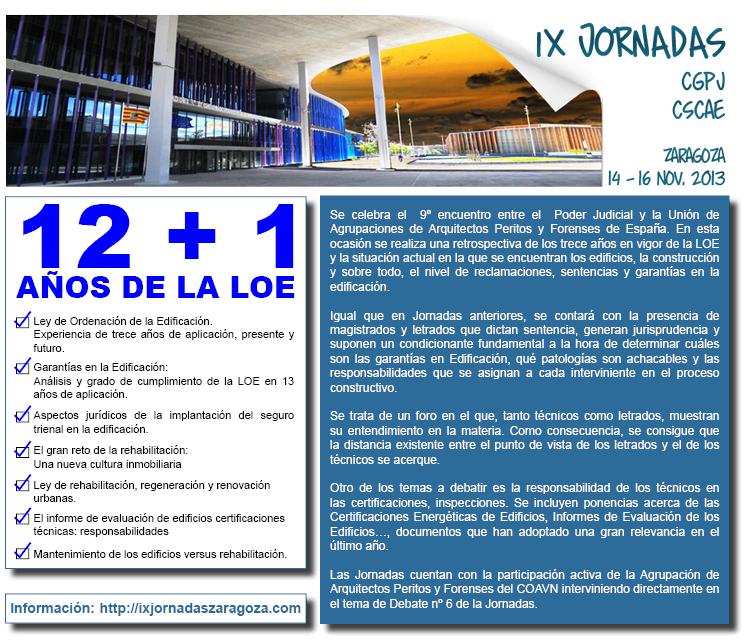 IX Jornadas CGPJ-CSCAE