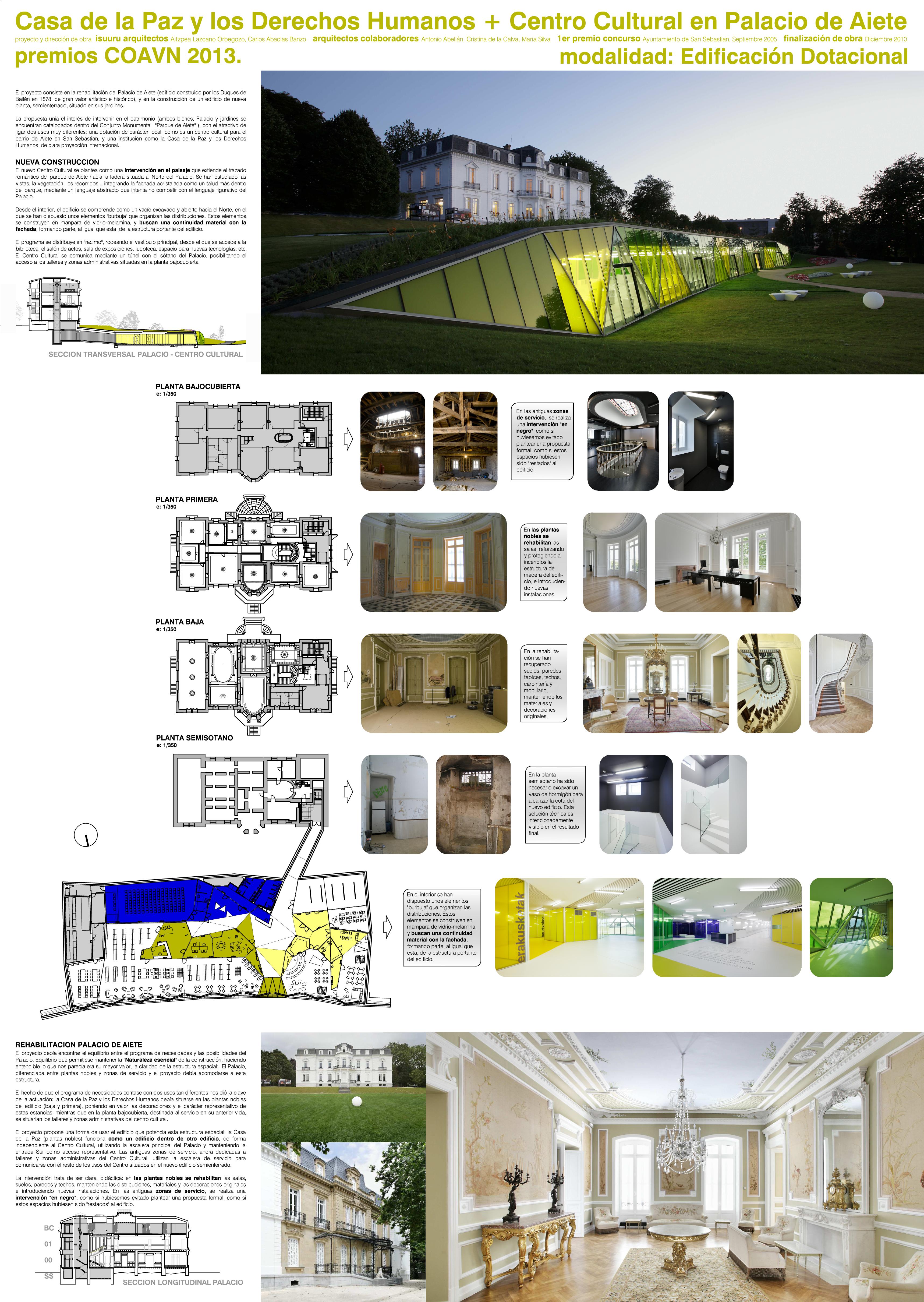 Colegio oficial de arquitectos vasco navarro - Casa en sabadell centro ...